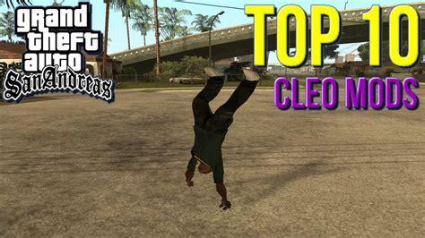 Gta San Andreas Top 10 Cleo Mods Youtube