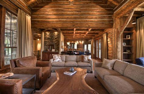 Mountain Home Surrounded By Forest Offers Rustic Living In