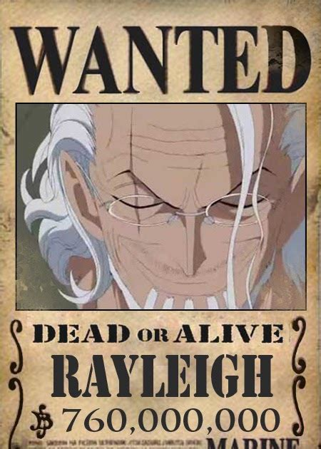 silvers rayleigh  piece tooncharacter