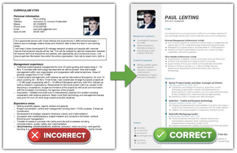 The Best Cv Layout by Discover Your Optimal Cv Format Start The Free Cv Quiz