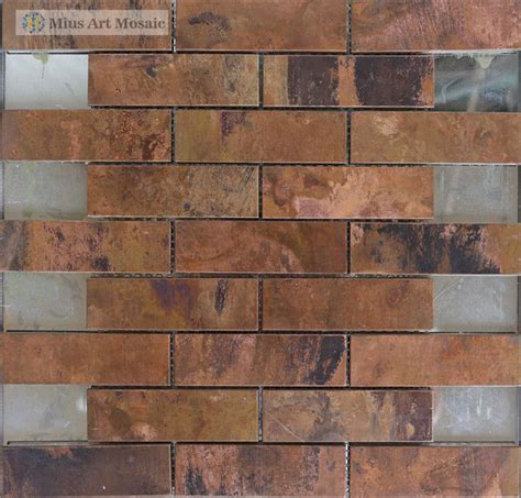 copper mosaic tile popular copper tile backsplash buy cheap copper tile