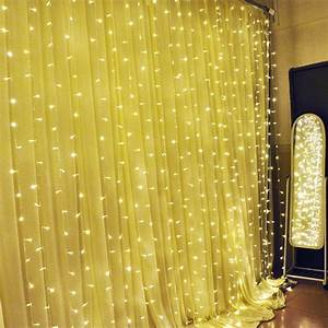 300 LEDs String Lights Curtain Light Outdoor Christmas