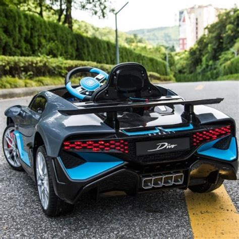 The car is named after french racing driver albert divo. Official Licensed Bugatti Divo 12V Rechargeable Battery ...