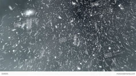 snow blizzard hd loop stock animation