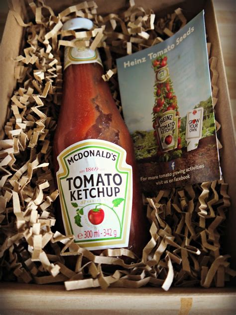 Inside the Wendy House: Heinz Tomato Ketchup - Grow Your ...