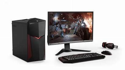 Gaming Lenovo Legion Y520 Tower Monitor Setup