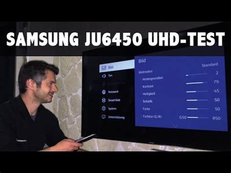 Im Test Samsung 55ju6450, 65ju6450 Serie 6 Der Uhd 4k Tv