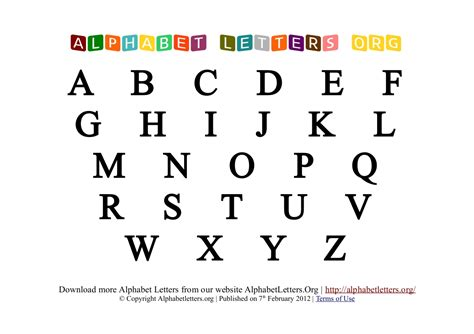 free printable alphabet letters new calendar template site