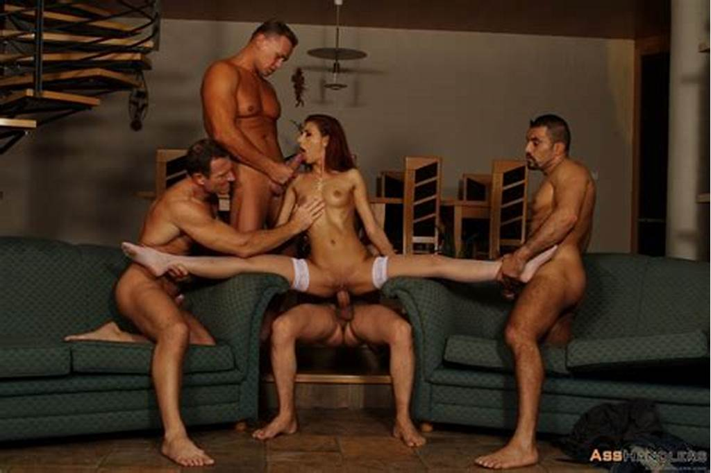 #Crystal #Crown #Gets #Her #Holes #Pounded #By #Four #Guys #1 #Of #2