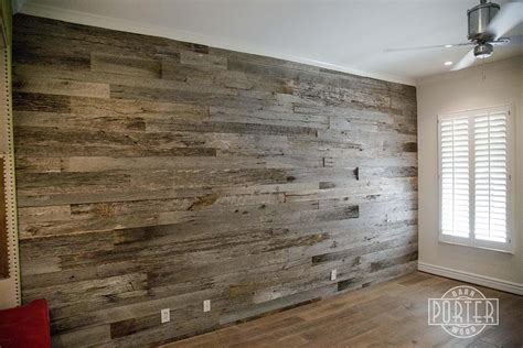 reclaimed tobacco barn grey wall covering  paradise