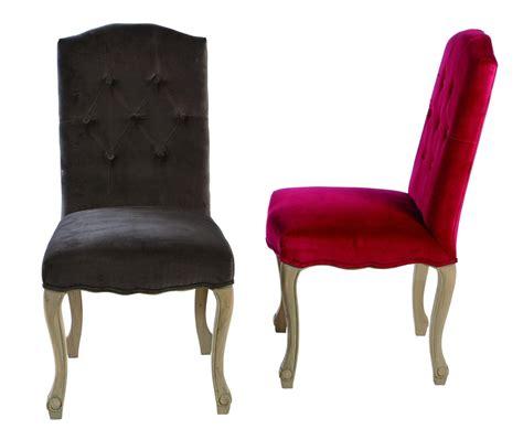 chaise capitonnee chaise capitonnée en velours
