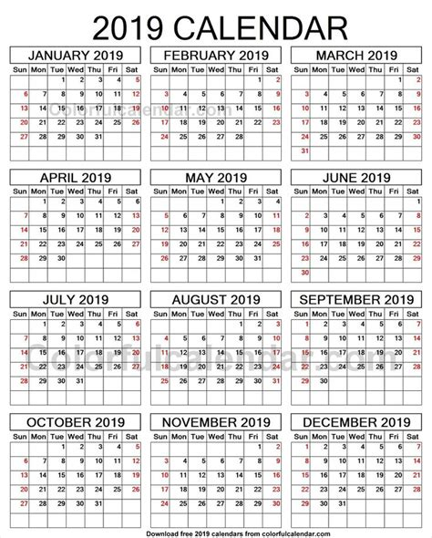 year calendar print yearly calendars print calendar