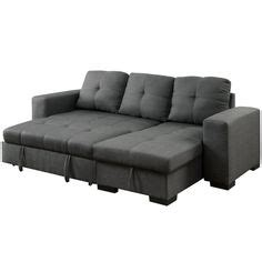 Furniture Of America Charlton Contemporary Sectional Sleeper