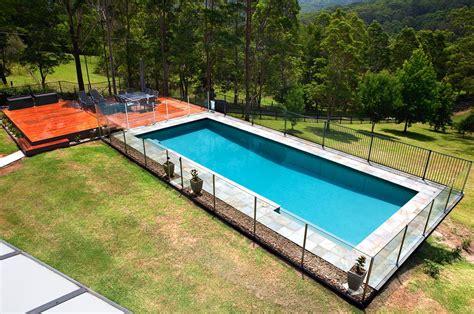 Ground Lap Pool Erina Crystal Pools