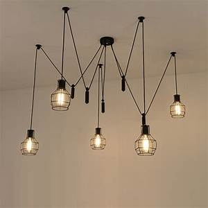 Aliexpress buy spider pendant light led