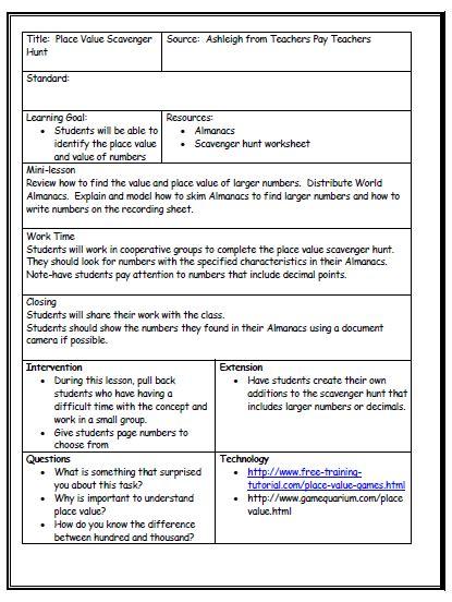 lesson plan format   teacher pinterest lesson