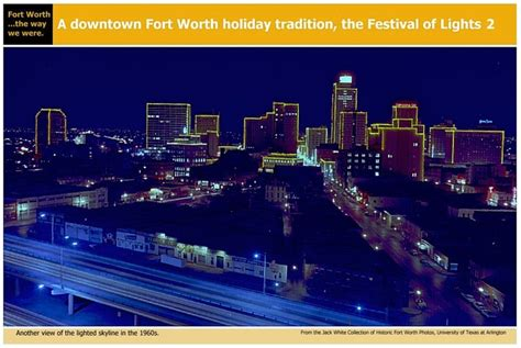 fort worth festival of lights 1960s fort worth