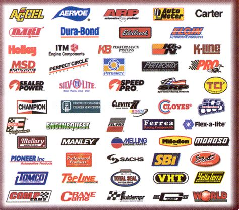 Car Performance Parts List  Oto News