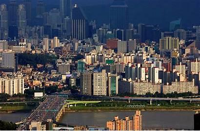 Korea Seoul South Megacity Rushhour Korean Posted