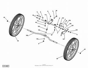 Dr Power Tr2 Pro    Commercial Parts Diagram For Axle Assembly