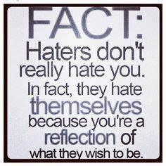 HATE BULLIES QU... Anti Hater Quotes