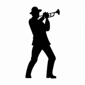 Man playing trumpet Vector Image - 1418029 | StockUnlimited
