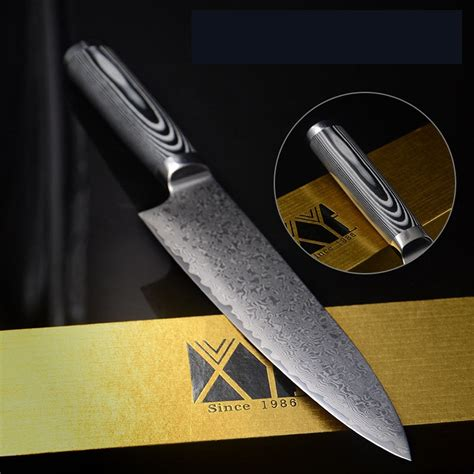 high quality kitchen knives high quality stainless steel damascus knives 8 inch chef