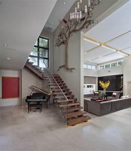 Decoration Murale Montee Escalier : 70 inspirations pour une d co mont e d escalier originale ~ Melissatoandfro.com Idées de Décoration