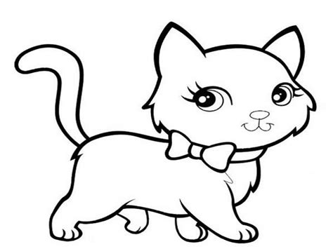 Too Cute Kittens Coloring Pages Cat Cats Of