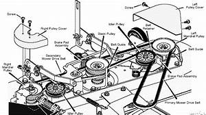 Wiring Diagram   Murray Riding Mower Belt Routing Info