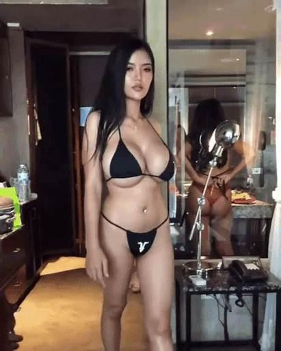 Asian Faii Orapun Busty Huge Gifs Thai