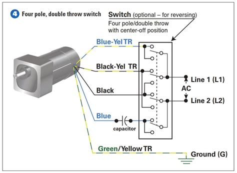 4 wire ac motor connection diagram 34 wiring diagram