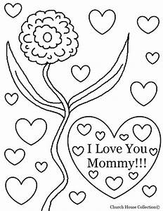 i love you mom coloring pages - Free Large Images