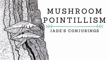 Mushroom Pointillism
