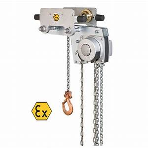 Yalelift Yllh  Low Headroom  Atex Hand Chain Hoist With