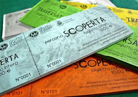 Biglietti D Ingresso Biglietti D Ingresso Quot Grotta Di Monte Cucco Quot