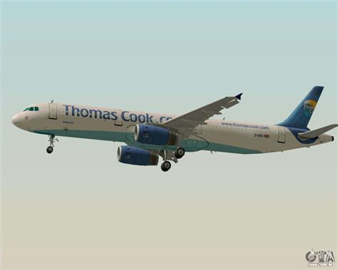 Airbus A321-200 Thomas Cook Airlines para GTA San Andreas