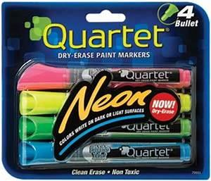 Quartet Glo write Neon Dry Erase Markers