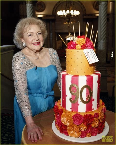 Fulld Photo Of Betty White Th Birthday Party A