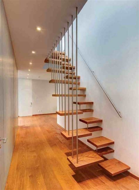 contoh model desain tangga rumah minimalis modern sederhana