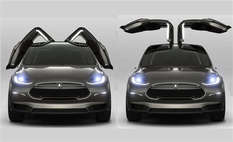 tesla suv doors tesla model x revealed but is it cool enough to fend