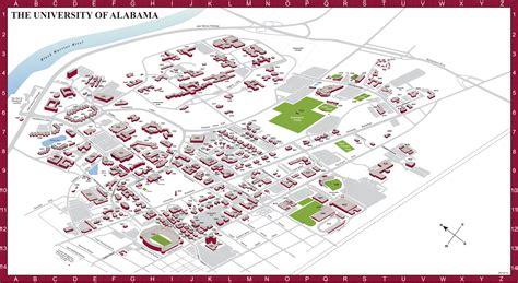 Alabama Campus Map