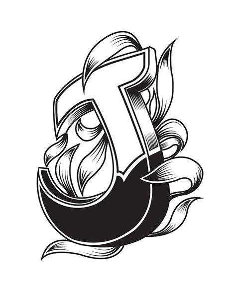 logo   behance tattoo lettering fonts letter  design lettering alphabet fonts