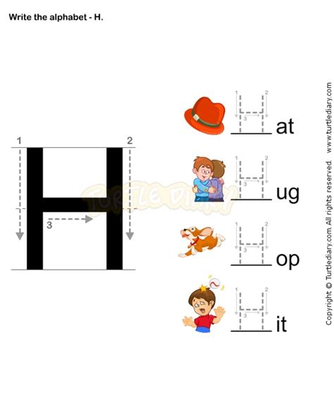 letter writing h esl efl worksheets preschool