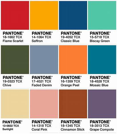 Pantone Colors Summer Spring Colour Palette Wardrobeoxygen