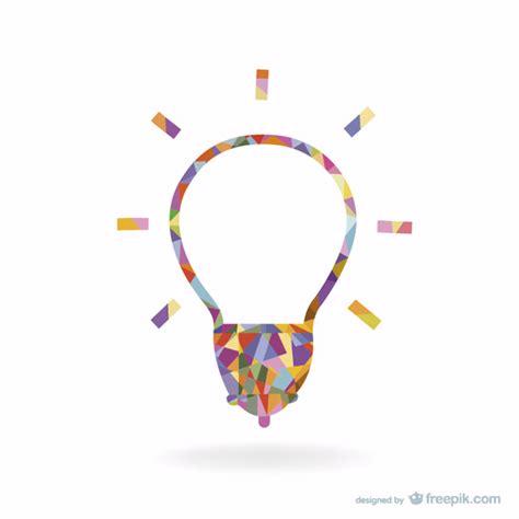 Creative Light Bulb Design Vector  Free Download