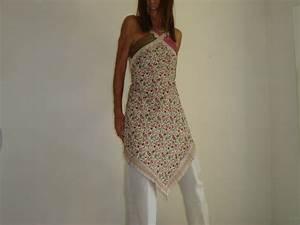 robe tablier quotindianaquotvintage en viscose fleurie soie et With chambre bébé design avec robe droite fleurie