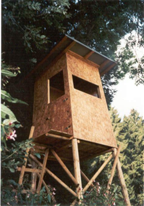 hochsitze jaegerstaende jagdkanzeln koehldorfner holzbau
