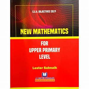 New Mathematics For Upper Primary Level  1st Edition