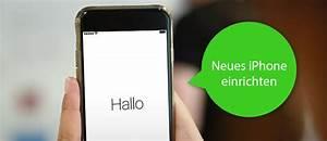 Neues Netzwerk Einrichten : neues iphone einrichten so geht 39 s ~ Watch28wear.com Haus und Dekorationen